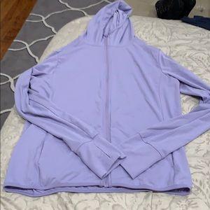 UNIQLO Lilac Purple Athletic Lightweight Jacket